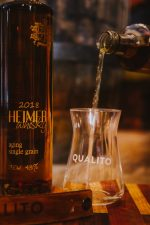 Qualito Heimer Pure Single Grain Aging South African Whisky