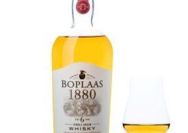 Win Boplaas' Platinum-awarded whisky